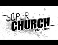 Super Church Invitation