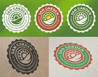 San Garden - logo design