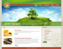 San Garden - web design