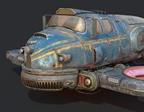 Old Sci Fi Ship