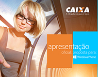 Proposal Caixa Windows Phone