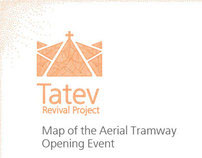 The World's Longest Aerial Tramway Opening Event Map