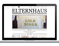 ELTERNHAUS / Webshop