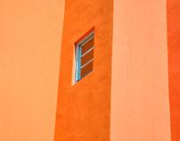 Soleil, murs, fenêtres & couleurs…