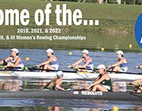 NCAA women's rowing championships.