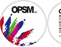 Vinyl Cover - Opossum Recordings