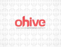 Ohive Social Network branding