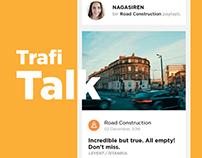 TrafiTalk - Mobile App Design