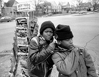 Chicago street pictures, 1982-2000