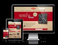 Relaunch der Bertolli.de Website