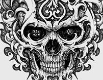 Skull Ornated