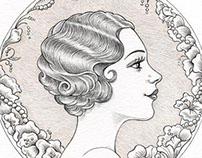 1920s Glamour Girl