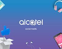 alcatel social media