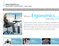 Ergo Concepts Website