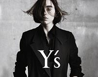 Y's print & video campaign