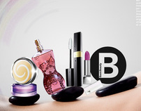 Advertsing for Basic Beauty by Lemon perfume