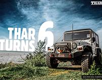 Mahindra THAR - 6 Year Of THAR