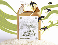 """Mother Kitchen"" organic rice- packaging"
