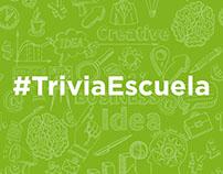#TriviaEscuela