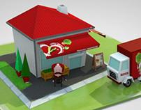 """Store """"Amanhecer"""" infographics"""