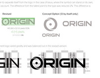 ORIGIN PC Logo Redesign