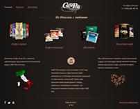 Caffé Poli Russia Website
