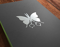 HvanWyk Hairdesign identity and branding