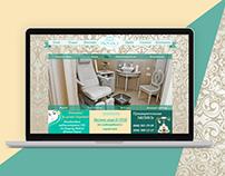 Beauty salon website- Provance