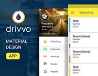 Drivvo - Mobile App UI