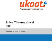 ukoot identity and business card