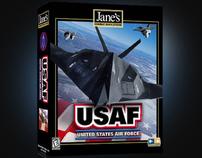 USAF - PC Game Flight Simulator Pixel for EA (Jane's)