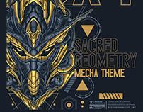 Gundam 00X4 sacred geometry