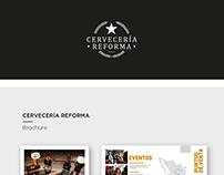 Cervecería Reforma | Brochure & Video institucional