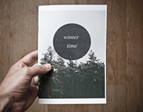 Winter time zine