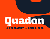 Quadon Typefamily