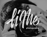 Logo for professional photographer Liza Medvedeva