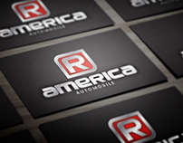 R America Automotive | Business Card Design