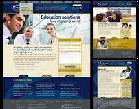 New Ventures of Regis University website design