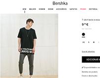 Print t-shirt / Bershka man / Spring 2016