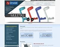 Sitio Web - Ortolab
