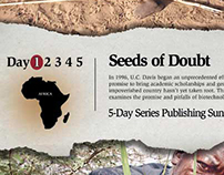 Seeds of Doubt Newspaper Campain