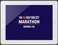 The ING New York City Marathon App