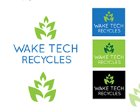 Graphic Standard Manual (GSM): Wake Tech Recycles