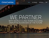 Cota Capital Website