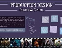Infográfico sobre Production Design