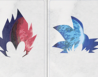 Dragonball Z Minimalist posters