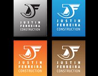 JF Concrete Logo Design
