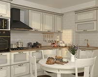 Small provence kitchen