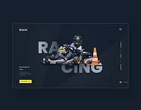 Racing UI concept.