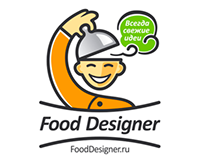 Food Designer Logo